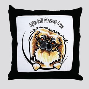 Pekingese IAAM Throw Pillow