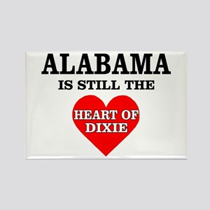 Heart of Dixie Rectangle Magnet