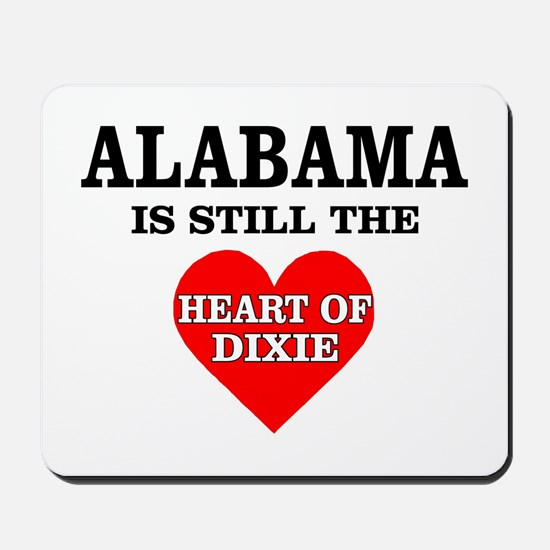 Heart of Dixie Mousepad