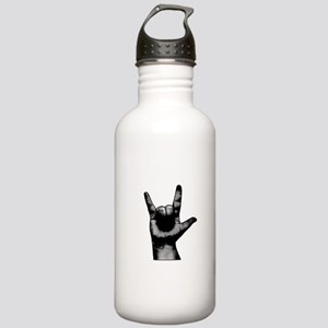 rock, metal Botella de agua