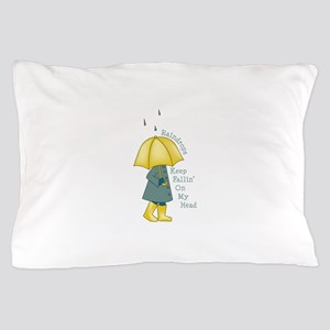 Raindrops Pillow Case