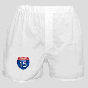 Interstate 15 - CA Boxer Shorts