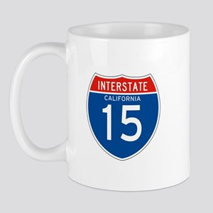 Interstate 15 - CA Mug