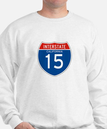 Interstate 15 - CA Sweatshirt