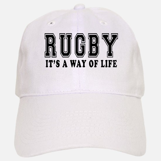 Rugby It's A Way Of Life Baseball Baseball Cap