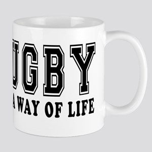 Rugby It's A Way Of Life Mug