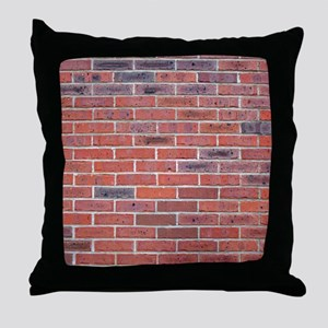Just a wall of bricks, what can I say Throw Pillow