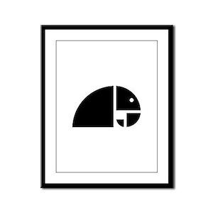 Golden Rule Elephant v.2 Framed Panel Print