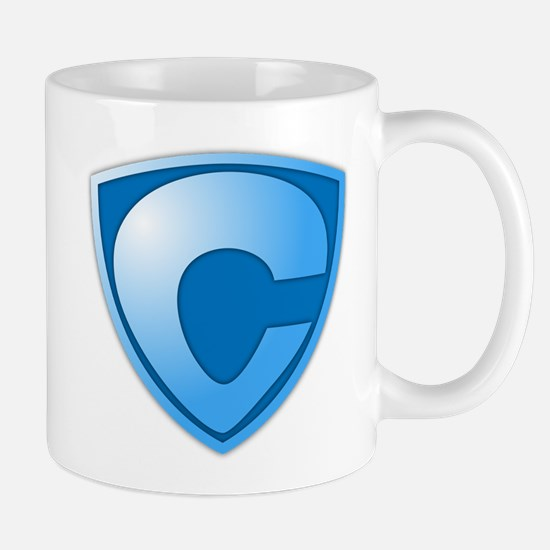 Super C Super Hero Design Mug