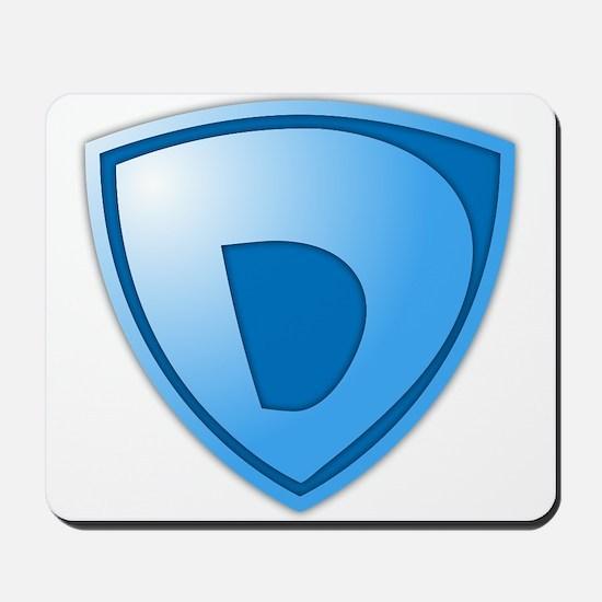 Super D Super Hero Design Mousepad