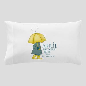 April Showers Pillow Case