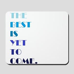 The Best (blue) Mousepad