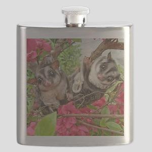 Flowers #10 Flask