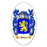 Bosca Sticker (Oval 50 pk)