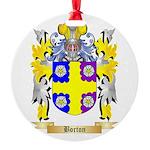 Borton Round Ornament