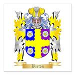 Borton Square Car Magnet 3
