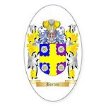 Borton Sticker (Oval 50 pk)