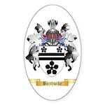 Borthwike Sticker (Oval 50 pk)
