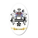 Borthwike 35x21 Oval Wall Decal