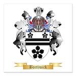 Borthwick Square Car Magnet 3