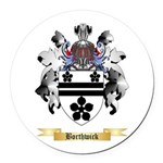 Borthwick Round Car Magnet