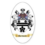 Borthwick Sticker (Oval 10 pk)