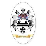 Borthwic Sticker (Oval 10 pk)