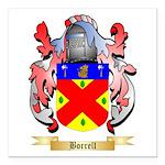 Borrell Square Car Magnet 3