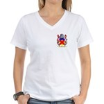 Borrel Women's V-Neck T-Shirt