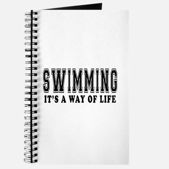 Swimming It's A Way Of Life Journal