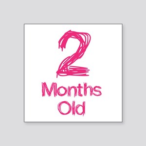 2 Months Old Baby Milestones Sticker