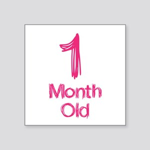 1 Months Old Baby Milestones Sticker