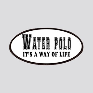Waterpolo It's A Way Of Life Patches