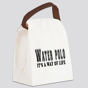 Waterpolo It's A Way Of Life Canvas Lunch Bag