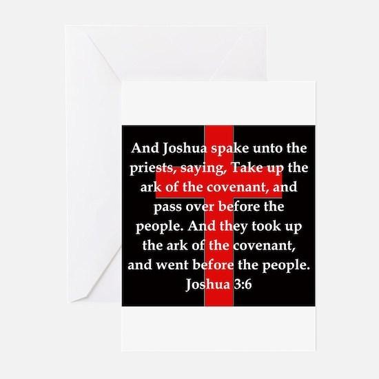 Joshua 3:6 Greeting Cards (Pk of 20)