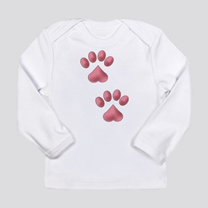 Two Paws Long Sleeve T-Shirt