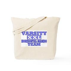 Varsity Horizontal Mambo Team Tote Bag