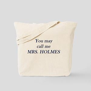 Mrs. Holmes Tote Bag