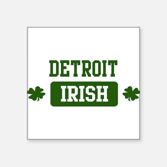 Detroit Irish Rectangle Sticker