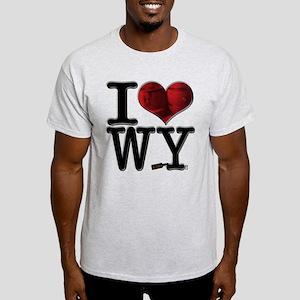 I Love WhiskeY Light T-Shirt
