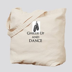 Ghillie Up and Dance Tote Bag