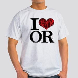 I Love ORgies Light T-Shirt