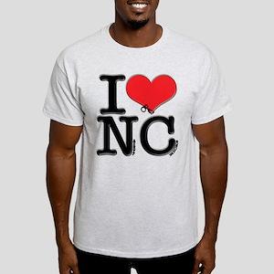 I Love Naughty-Chicks Light T-Shirt