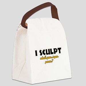 I Sculpt what's your super power Canvas Lunch Bag
