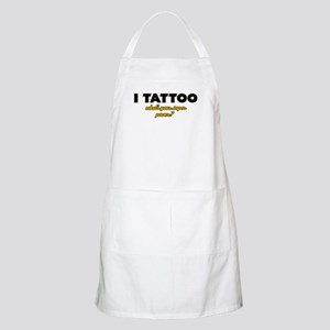 I Tattoo what's your super power Apron