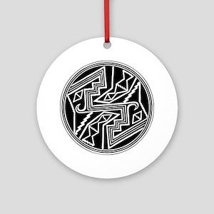 Mimbres Design 2 Ornament (Round)