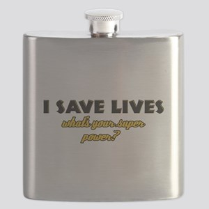 I Save Lives what's your super powe Flask