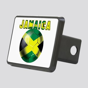 Jamaican Football Hitch Cover
