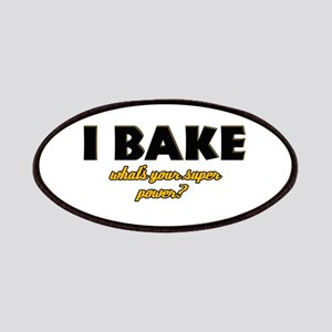 I Bake what's your super powe Patches