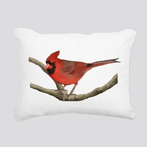 Cardinal Rectangular Canvas Pillow